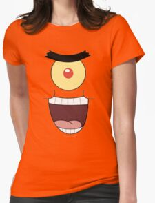 plankton Womens Fitted T-Shirt