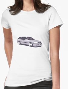 Honda Civic Aerodeck Womens Fitted T-Shirt
