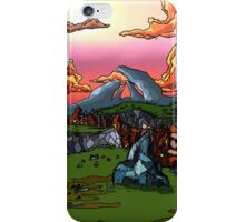 The Sun Soaked Clouds iPhone Case/Skin