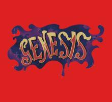 70s Genesis logo Baby Tee