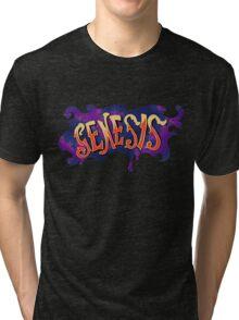 70s Genesis logo Tri-blend T-Shirt
