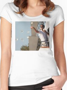 Wolf Of Wall Street Women's Fitted Scoop T-Shirt