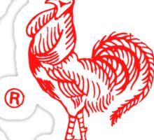 Sriracha Graphic Sticker