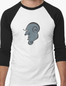 Surreal Face Men's Baseball ¾ T-Shirt