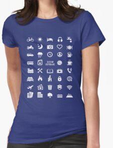Travel With Icon Speak Tshirt! T-Shirt