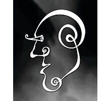 Surreal Face (wall art) Photographic Print