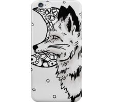 Fox and the Moon iPhone Case/Skin