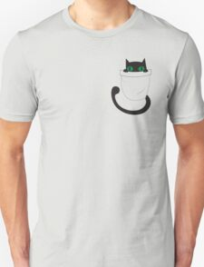 kitty cat in a pocket Unisex T-Shirt
