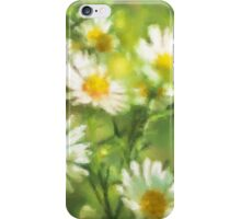 Bumble Bee Daisies iPhone Case/Skin