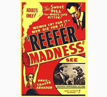 Reefer Madness Weed Poster Unisex T-Shirt