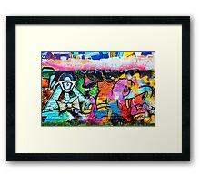 Graffiti Framed Print