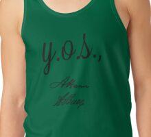Y.O.S., A. Ham A. Burr Tank Top