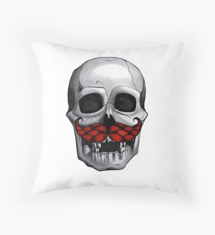 Jolly Rodger Throw Pillow