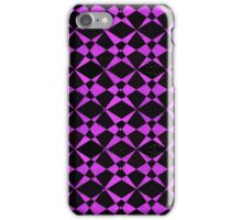 Abstract textured patterned background iPhone Case/Skin