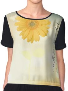 A Flower is Perfect Chiffon Top