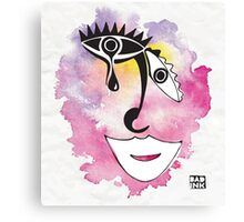 Sad Clown (wall art) Canvas Print