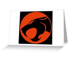 Thundercats RED & BLACK Greeting Card