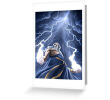 Zeus Unlimited Greeting Card