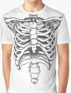 Skeleton Ribcage  Graphic T-Shirt