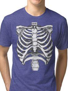Skeleton Ribcage  Tri-blend T-Shirt