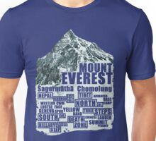 Mount Everest - Routes Unisex T-Shirt