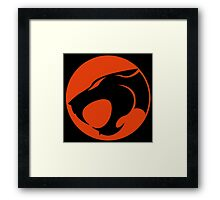 Thundercats RED & BLACK Little Framed Print