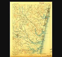 USGS TOPO Map New Jersey NJ Asbury Park 255082 1888 62500 Unisex T-Shirt