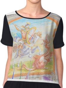 SAINT GEORGE Chiffon Top