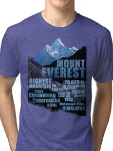Mount Everest Tri-blend T-Shirt