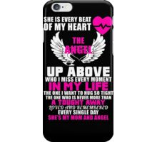 She is every beat of my heart, Funny Motivational Quotes Tshirt iPhone Case/Skin