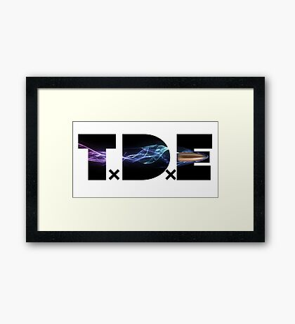 TDE bullet shoot Framed Print