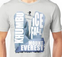 Mount Everest - Khumbu Icefall Unisex T-Shirt