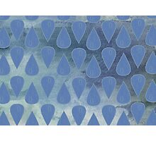 Cerulean City (Pattern) Photographic Print