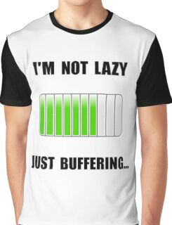 Lazy Buffering Graphic T-Shirt