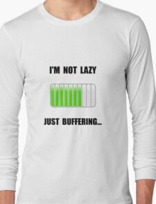 Lazy Buffering Long Sleeve T-Shirt
