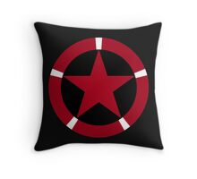 Roundel of the Albanian Air Force Throw Pillow