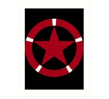 Roundel of the Albanian Air Force Art Print