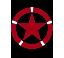 Roundel of the Albanian Air Force Photographic Print