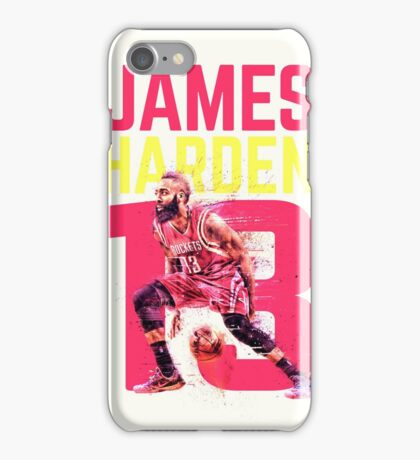 James Harden- Houston Rockets iPhone Case/Skin