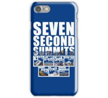 Seven Second Summits iPhone Case/Skin