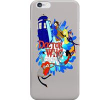 Adventure Time Tardis dr Who  iPhone Case/Skin