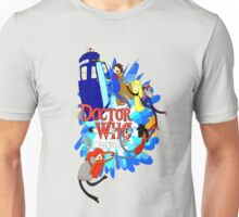 Adventure Time Tardis dr Who  Unisex T-Shirt