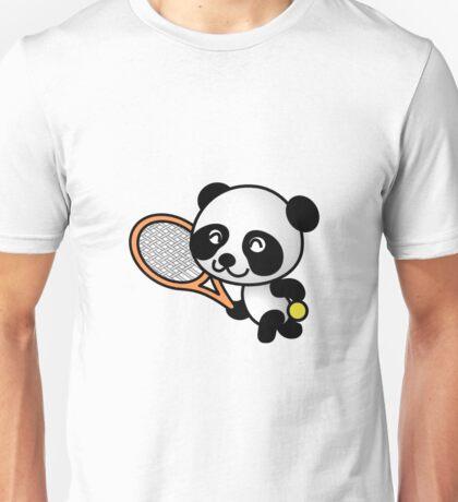 Tennis Panda Unisex T-Shirt