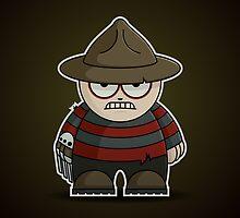Mini Freddy Krueger by Adam Miconi
