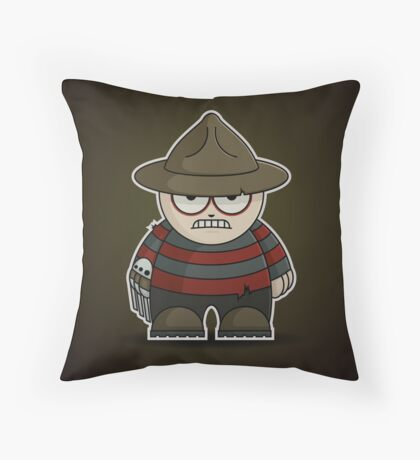 Mini Freddy Krueger Throw Pillow