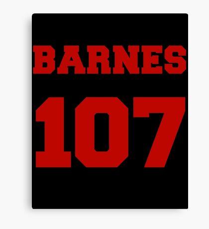 Barnes Canvas Print