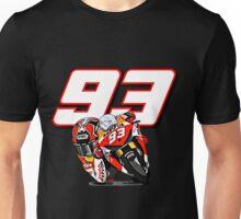 Marc marquez, Motogp World Champion 93 and bike Unisex T-Shirt