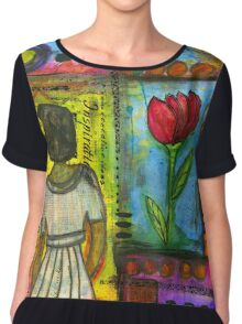 Looking for Inspiration in ALL the RIGHT Places Chiffon Top