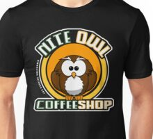 Nite Owl Coffee Shop Unisex T-Shirt