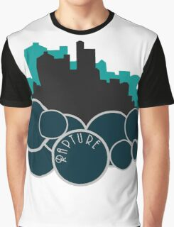 The Ocean on His Shoulders Graphic T-Shirt